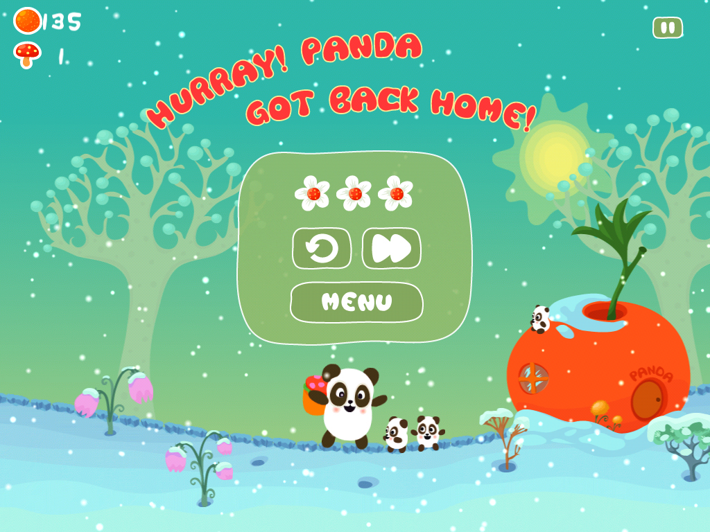 Игра Panda Sweet Tooth HD for iPad and iPhone on the iTunes App Store